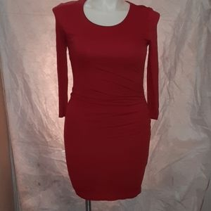 Red Lightweight  Dress MNG by Mango Small NWOT